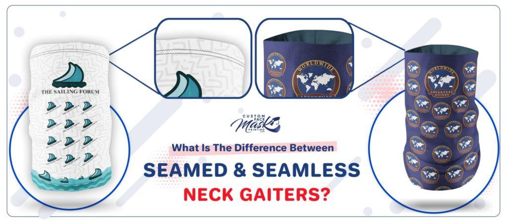 seamed vs seamless neck gaiters